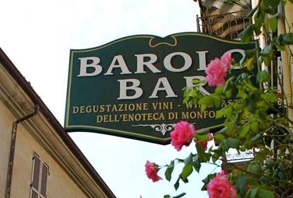 Insegna Barolo Bar