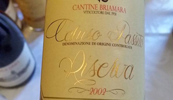 Caluso Passito Riserva 2002 Briamara