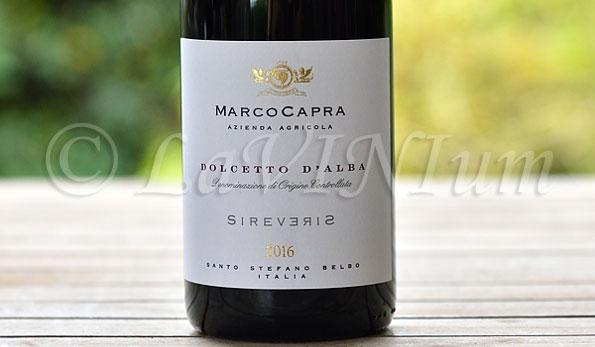 Dolcetto d'Alba Sireveris 2016 Marco Capra