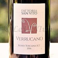 Verrucano Rosso 2016 Fattoria San Vito
