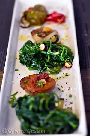 Antipasto di verdure di stagione