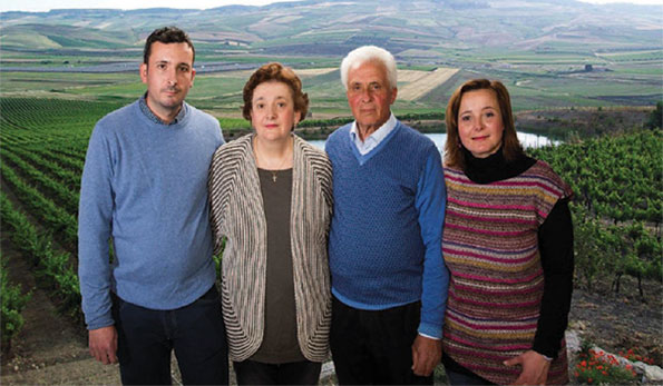 Nunzio Dario, Leonarda, Antonino e Marisa