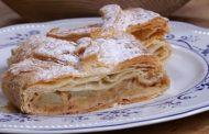Strudel di mele e Südtirol Eisacktaler Kerner Passito