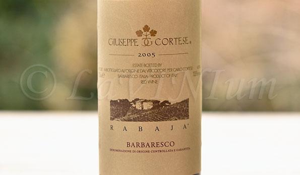 Barbaresco Rabajà 2005 Giuseppe Cortese