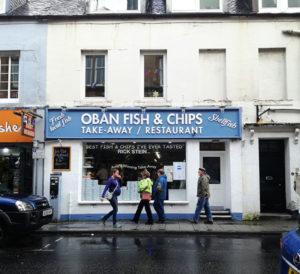 Fish & Chips ad Oban