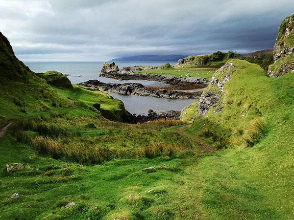 Il paesaggio sull'isola Kerrera