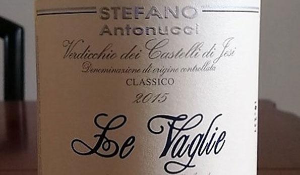"""Verdicchio dei Castelli di Jesi Classico """"Le Vaglie"""" 2015 - Santa Barbara"""