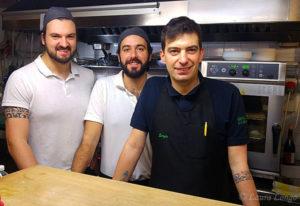 Da sinistra Emanuele Crimi, Stefano Blè e Sergio Caniffi