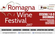 Romagna Wine Festival 2017: a Cesena il meglio del sangiovese e dell'albana