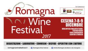 Locandina Romagna Wine Festival 2017
