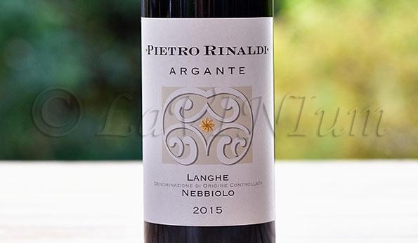 Langhe Nebbiolo Argante 2015 Pietro Rinaldi