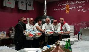 Paolo Ruggiero, Giovanni Improta, Rosario Piscopo, Enzo Coccia, Antonio Fusco ed Eduardo Ore