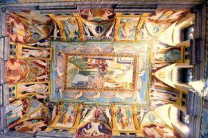 Affreschi nel Palazzo Duca della Corgna