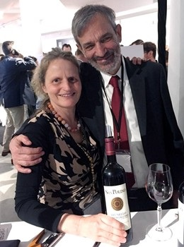 Katia Nussbaum e Luigi Fabbro