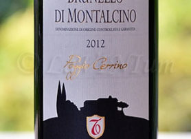 Brunello di Montalcino Poggio Cerrino 2012