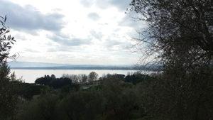 Il Trasimeno visto da Castiglione del Lago