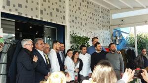 I protagonisti del Mediterranean Cooking Congress presso il Pasta Bar Leonessa