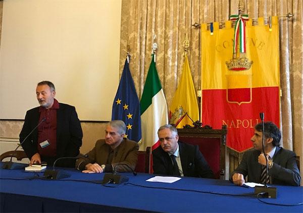 Ioannis Korinthios, Salvatore Pace, Nino Daniele e il prof. Paul Kyprianou