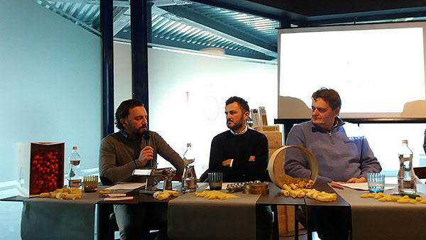 Da sinistra: Antonio Pellegrino, Massimo Mancini e Oscar Leonessa