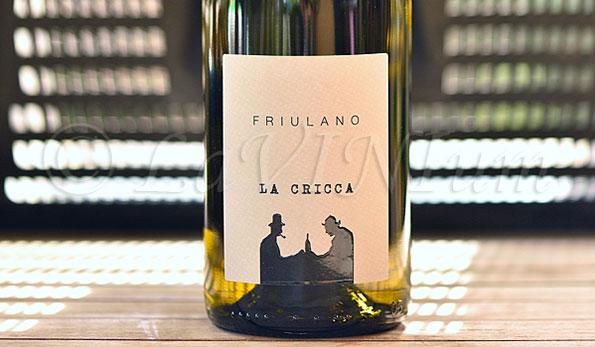 Friuli Colli Orientali Friulano 2016 La Cricca