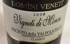 VINerdì Igp, il vino della settimana: Recioto della Valpolicella Classico Vigneti di Moron Domini Veneti 2008 - Cantina Valpolicella Negrar