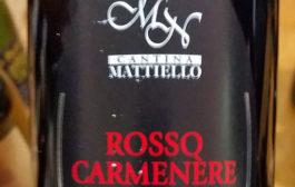 VINerdì Igp, il vino della settimana: Colli Berici Rosso Carmenère 2016 - Cantina Mattiello