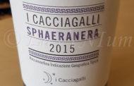 Produttori, un vino al giorno: Sphaeranera 2015 - I Cacciagalli, intensità, energia e personalità
