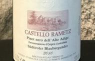 Alto Adige Pinot Nero 2010