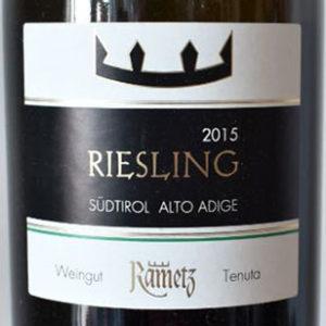 Alto Adige Riesling 2015 Castello Rametz