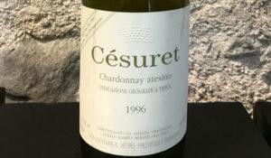 Chardonnay Césuret 1996 Castello Rametz