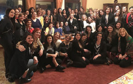 Napoli, il Console USA brinda con le Donne del Vino alle eccellenze della Campania