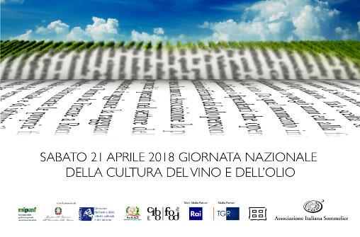 manifesto giornata nazionale del vino e dell'olio