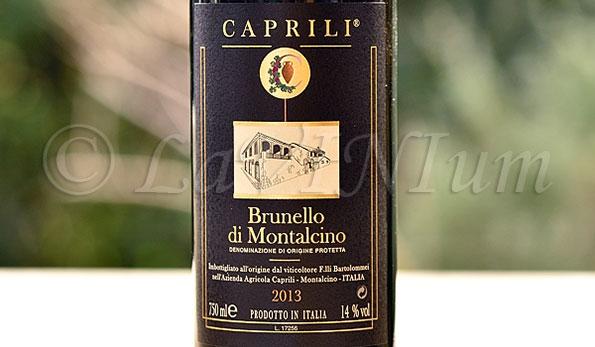 Brunello di Montalcino 2013 Caprili