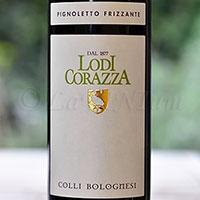 Colli Bolognesi Pignoletto Frizzante 2016 Loi Corazza