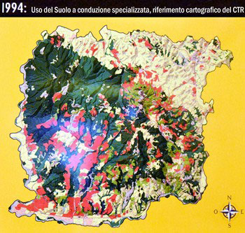 Mappa Montalcino 1994