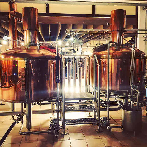Impianto del birrificio