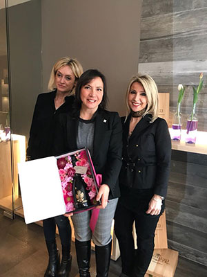 Annalisa Rinaldi, Carmen Guerriero e Silvia Dalfiume