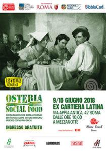 Locandina Osteria Social Food