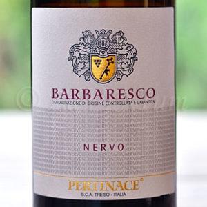 Barbaresco Nervo 2014 Pertinace