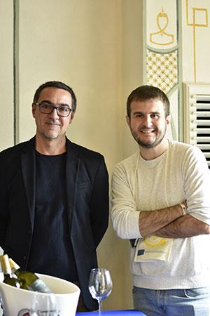 Fabrizio Battaglino e Andrea Li Calzi
