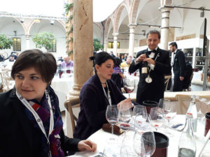 Benvenuto Brunello 2018: Fosca Tortorelli e Marina Alaimo durante la degustazione