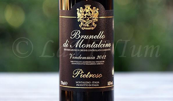 Brunello di Montalcino 2012 Pietroso