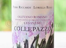 Olevano Romano Cesanese Collepazzo 2014