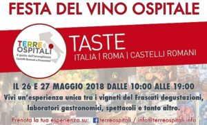 Festa del vino ospitale - locandina