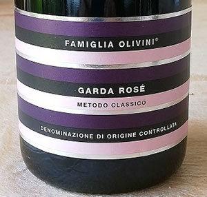 Garda Rosé Brut Metodo Classico Famiglia Olivini