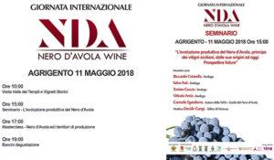 Logo seminario sul Nero d'Avola