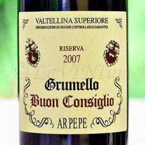 Valtellina Superiore Grumello Buon Consiglio Riserva 2007 Ar.Pe.Pe.
