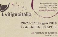 VitignoItalia, da domenica 20 a martedì 22 maggio al via la XXI edizione
