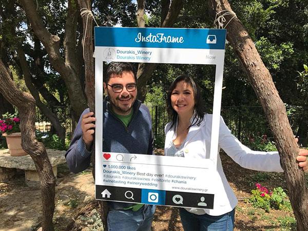 Anthoni Dourakis e Carmen Guerriero