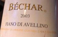 Bechar 2003, bere il Fiano di Avellino e vivere senza pregiudizi